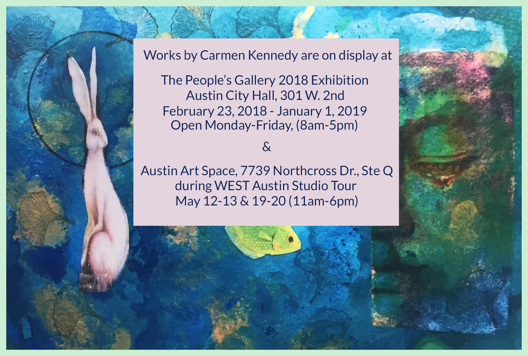 Austin Exhibits Invitation